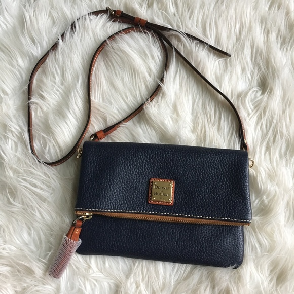 Dooney   Bourke Handbags - Dooney   Bourke Foldover Zip Crossbody Bag